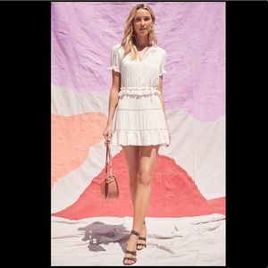 Tularosa Colleen Ruffle Dress